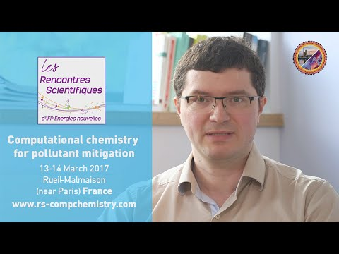Computational chemistry for pollutant mitigation