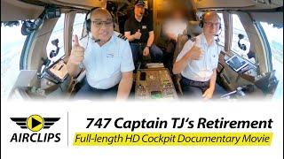 Boeing 747-400BCF EXCLUSIVE CONTENT: Captain TJ'S AMAZING B747 Retirement Flight! Final Landing in Munich