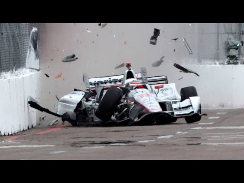 Indycar Crashes 2016