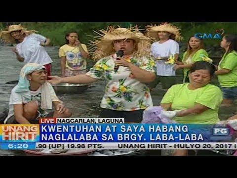Unang Hirit: Saya sa Brgy. Laba-Laba sa Nagcarlan, Laguna