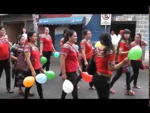 Desfile magisterial - Joyabaj, Quiché. - 20/06/2017