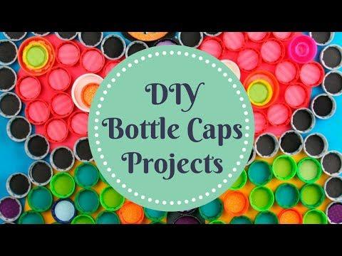 DIY Bottle Caps Projects