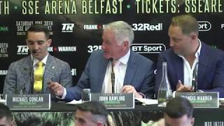 THE HOMECOMING: Full Michael Conlan press conference in Belfast (28.06.18)