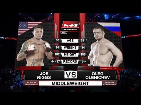 Joe Riggs vs Oleg Olenichev, M-1 Challenge 84