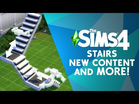 Sims 4 customizable stairs are causing quite a ruckus