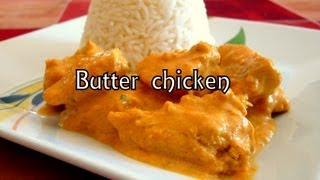 Cocina fácil - Butter chicken -  Murgh makhani (Receta en español) - Cocina Hindú