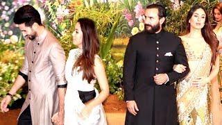 Shahid Kapoor IGNORES Ex Girlfriend Kareena Kapoor At Sonam Kapoor & Anand Ahuja's Wedding Reception
