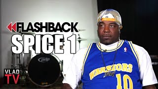 Spice 1 on 2Pac Rolling Bloody Blunt After Being Shot in NYC (Flashback)