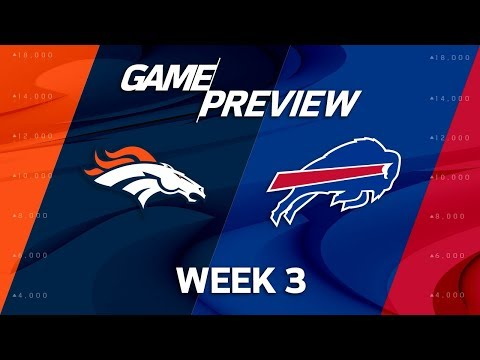 Denver Broncos vs. Buffalo Bills | Week 3 Game Preview | NFL Playbook