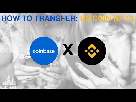 How To Transfer Bitcoin From Coinbase To Binance! | QUICK TUTORIAL!