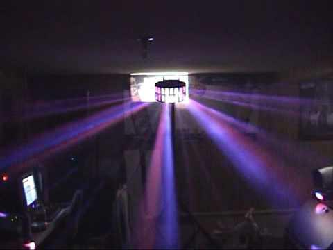 My New Lights The Tri Led Aggressor and Vertigo by American DJ