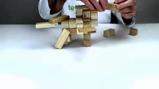 How To Build Pegasus Out Of Tegu Toys For Kids