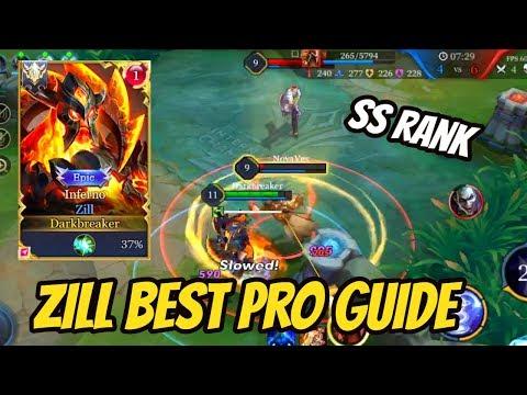 HOW TO PLAY ZILL PRO GUIDE | AoV | 傳說對決 | RoV | Liên Quân Mobile | 펜타스톰