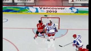 NHL09 PC Team Canada vs Team Russia