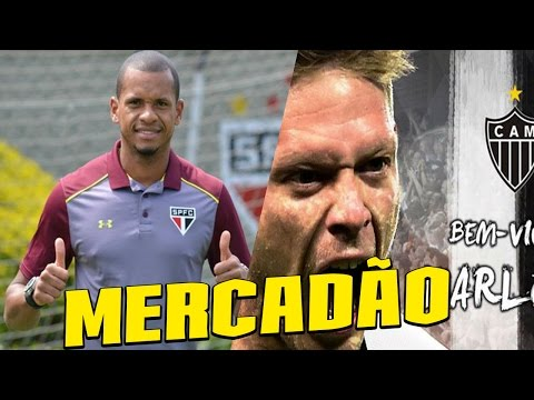 EDIMAR FECHA COM SPFC E MARLONE COM ATLETICO! - MERCADO DA BOLA