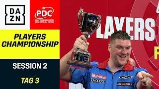 Daryl Gurney gewinnt Herzschlagfinale gegen Michael van Gerwen  | Players Championship | DAZN
