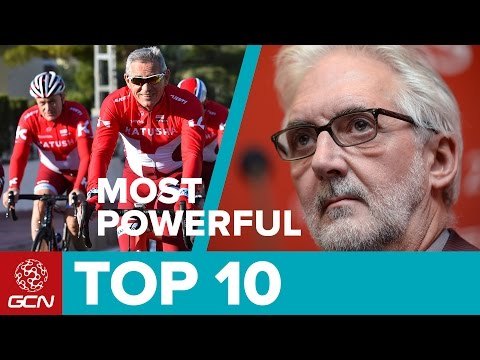 Top 10 Most Powerful People In Cycling