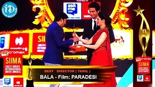 Best Director Bala Film Paradesi Tamil@SIIMA 2014, Malayalam