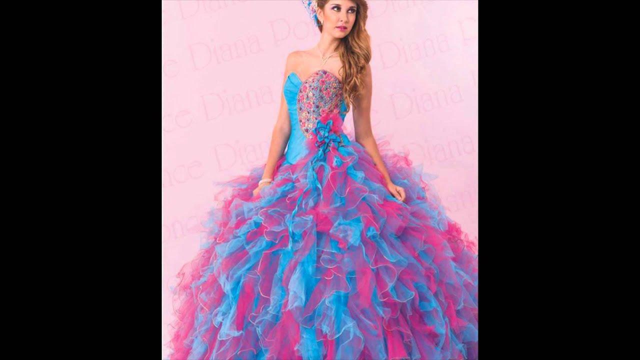 Los Mejores Vestido de Quinceanera - Diana Ponce Video 2015 - YouTube