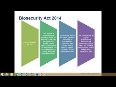 Biosecurity for Event Organisers