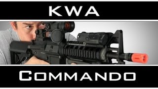 Airsoft Gi - Kwa Km4 Commando Full Metal Shorty M4 Aeg - Mk18 Transformation