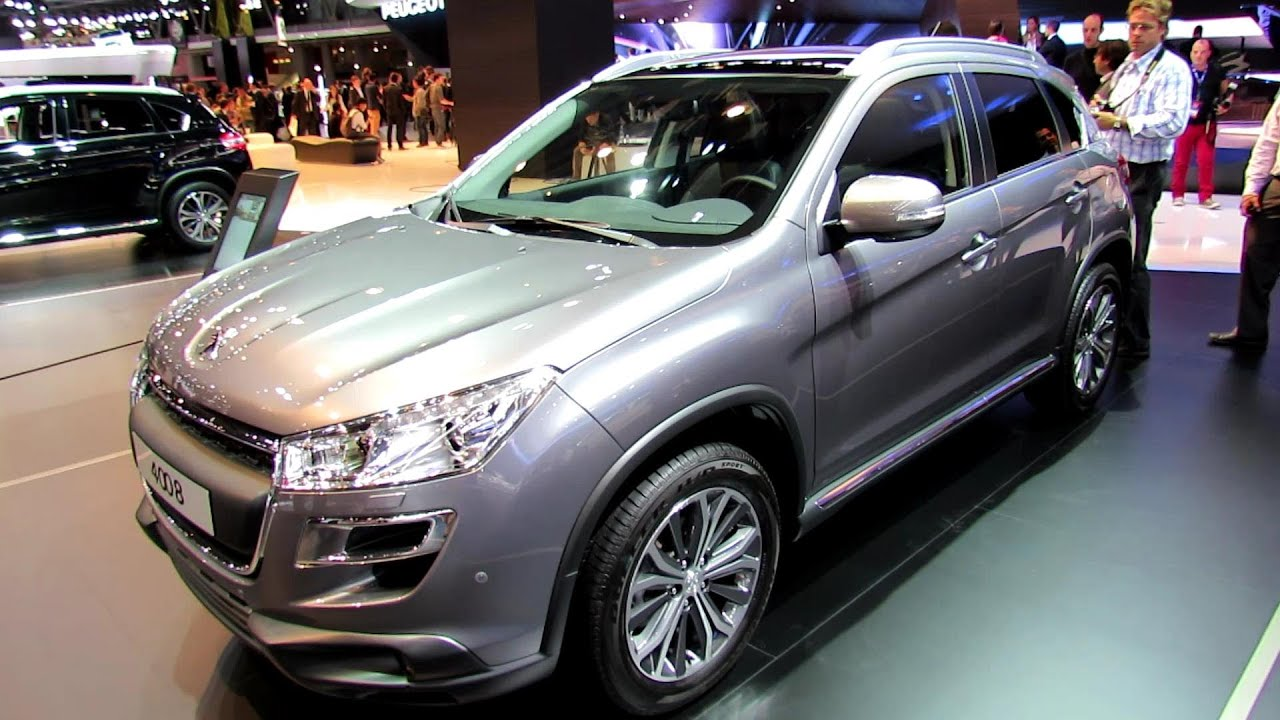 2013 peugeot 4008 exterior and interior walkaround 2012 paris auto show youtube. Black Bedroom Furniture Sets. Home Design Ideas