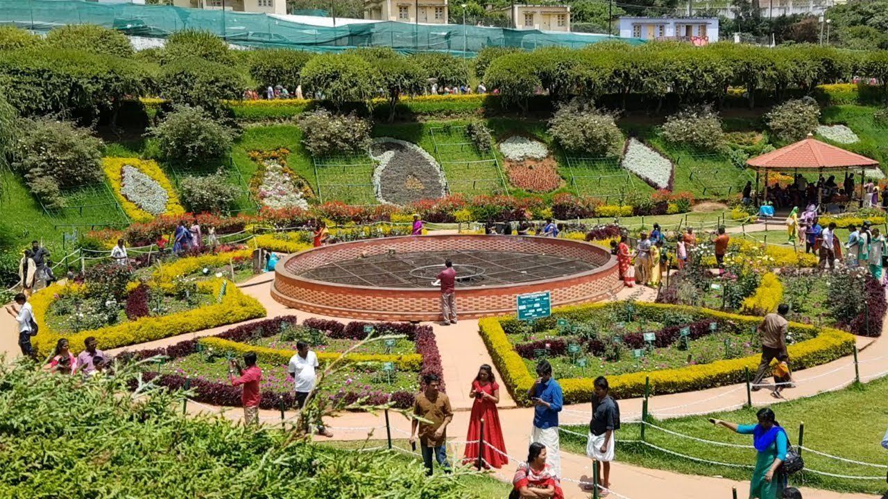 Rose Garden Ooty - Flower Show May 2018