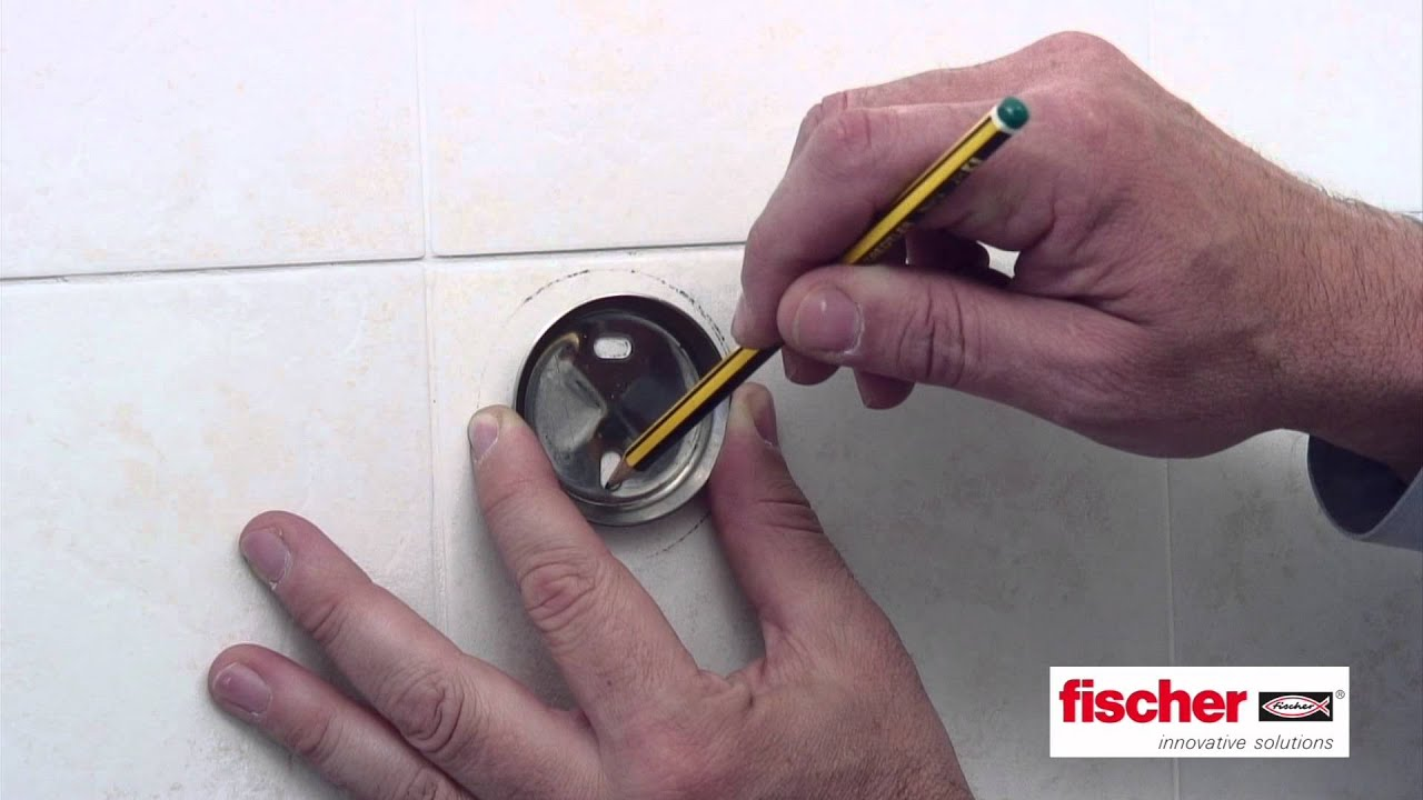 Portasalviette con kit Accessori bagno Fischer - YouTube