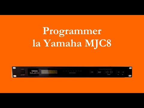 Programmer la Yamaha MJC8 (How to program the Yamaha MJC8 - english subtitles available)