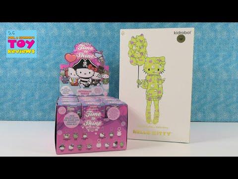 Hello Kitty Time To Shine Kidrobot Vinyl Keychain Series + Blush Edition Exclusive   PSToyReviews