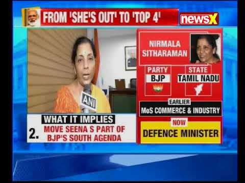 Nirmala Sitharaman becomes India's 1st woman Defence Minister after Indira Gandhi