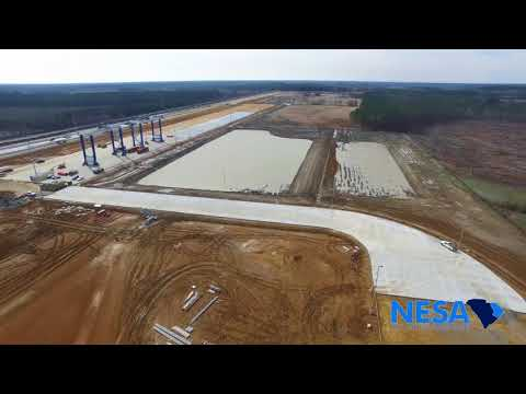 Inland Port Dillon - February 2018 Construction Update