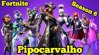 Livestream #436 - Fortnite - Nova temporada e nova skin default