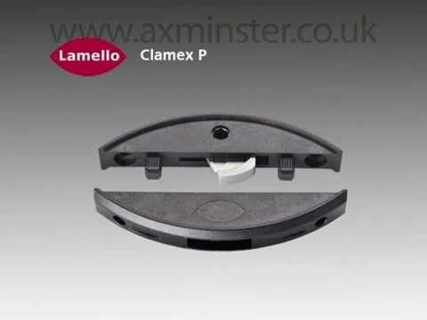 lamello clamex p connector for zeta youtube. Black Bedroom Furniture Sets. Home Design Ideas