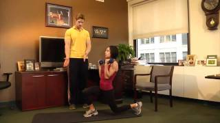 Office workout routine
