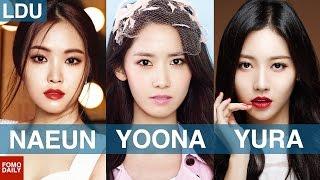 Video Naeun, Yoona, Yura (Visuals Edition) • Like, DM, Unfollow download MP3, 3GP, MP4, WEBM, AVI, FLV Agustus 2017