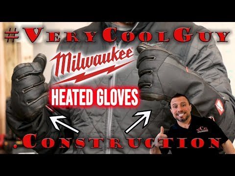 Milwaukee USB Rechargeable Heated Gloves (561-21M)