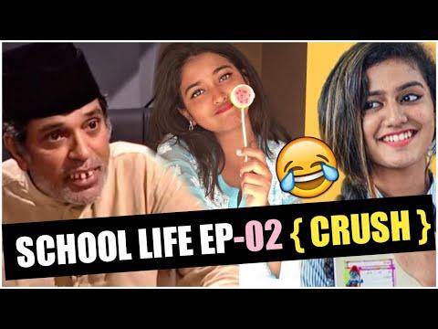 School Crush | Kids Then VS Now | School Life EP-02