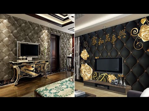 Stylish 5D Wallpaper Designs For Living And Bedroom 2020