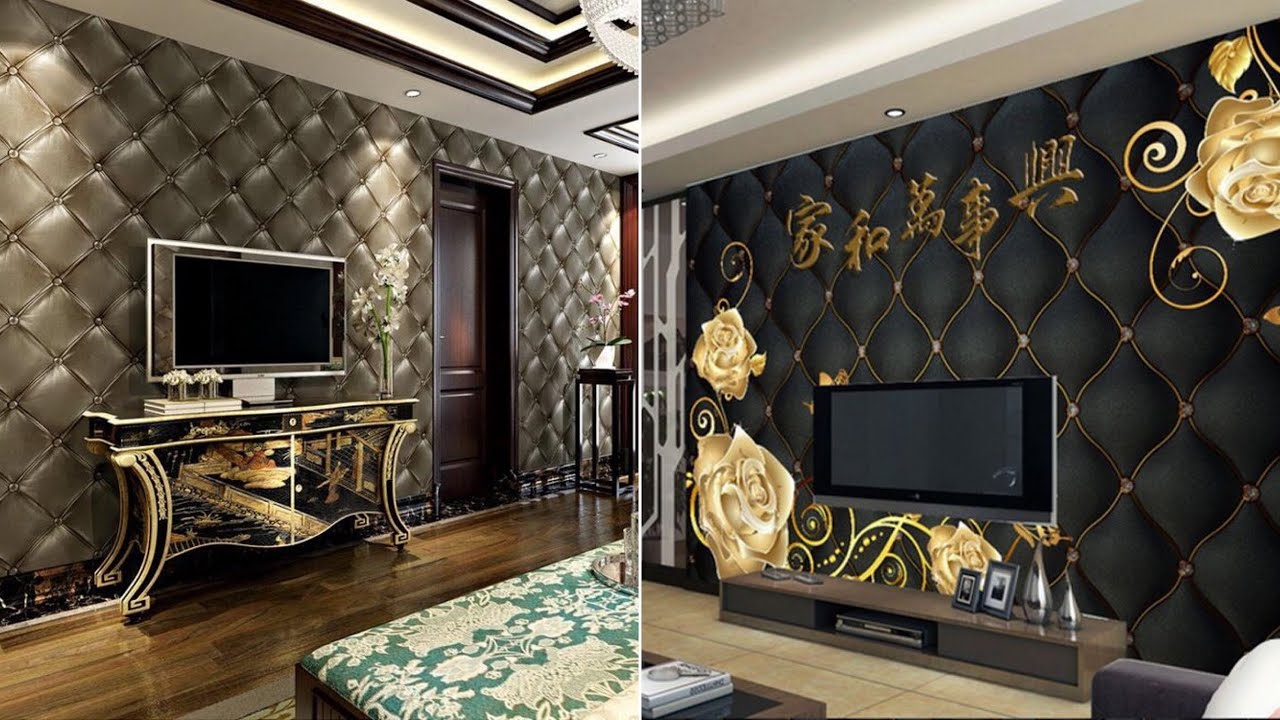 Stylish 13D Wallpaper Designs For Living And Bedroom 13