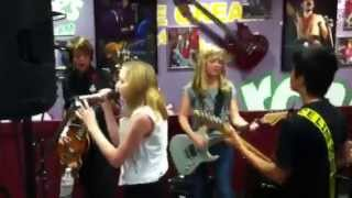 "5 Minutes Late perform ""I Love Rock & Roll"" by Joan Jett at Archie's Ice Cream in Tustin,Ca - 8/8/13 Thumbnail"