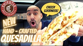 Chipotle New Quesadilla   Review 🤤🧀 - Why Didn't they Do This Sooner??