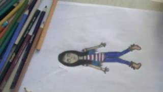 Speed Drawing -  Luna