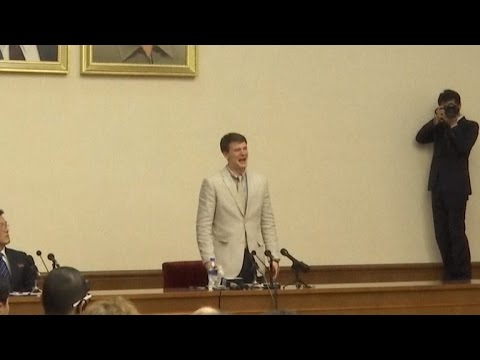 U.S. Student Gets 15 Years Hard Labor in N. Korea for Trying to Steal Poster