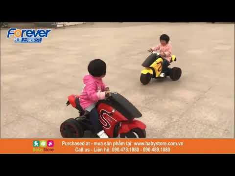 Xe máy điện trẻ em BMW 5040 (Kiểu dáng thể thao, BH 1 năm)