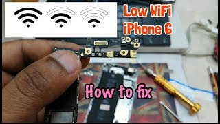 Fix Low and Weak WiFi iPhone 6 iOS
