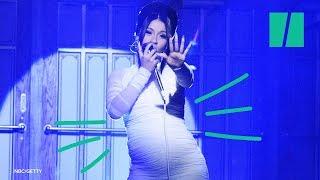 Cardi B's Adorable Pregnancy Reveal