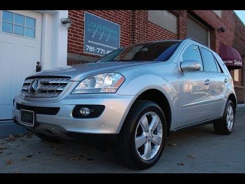 2006 mercedes benz ml500 walk around presentation at louis. Black Bedroom Furniture Sets. Home Design Ideas