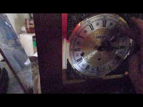 Howard Miller 1050-020 mechanism Triple Chime Key Wind Mantel Clock Mod 612436