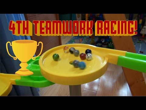4th Semi-Annual Marble Teamwork Racing! (45,000 Subs and 5th Anniversary Special!)